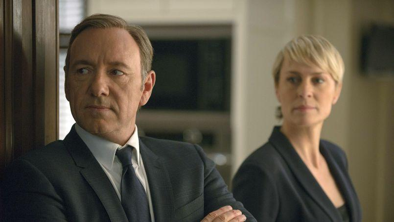 Kevin Spacey et Robin Wright figurent notamment au casting de «House of Cards», le succès diffusé par Netflix.