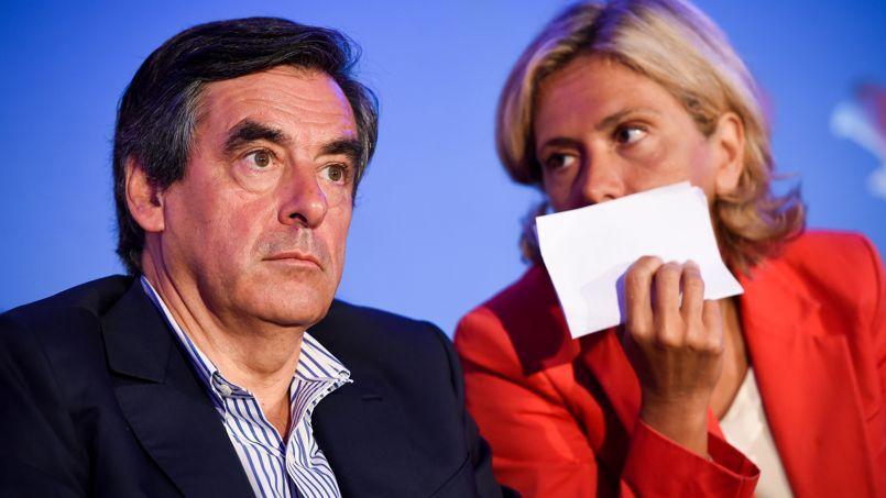 François Fillon et Valérie Pécresse, mercredi dans la Sarthe pour la rentrée de l'ex-premier ministre
