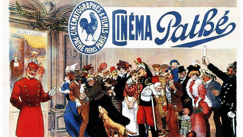Publicité Cinéma Pathé en 1907