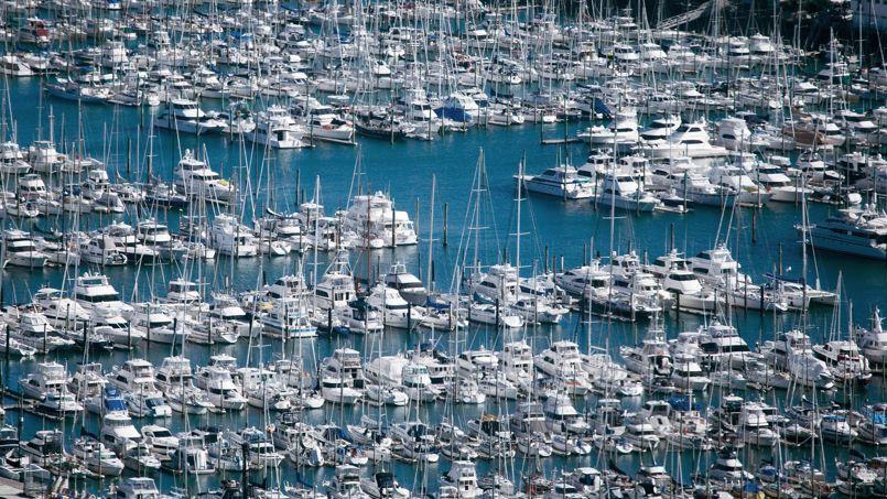 Selon les chiffres de la fédération des industries nautiques la fréquentation des ports français est en baisse (photo Brendon O'hagam, Bloomberg)
