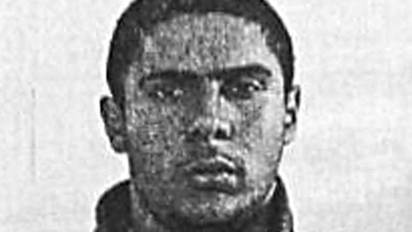 Mehdi Nemmouche lors d'une audition au tribunal de Versailles, fin juin.