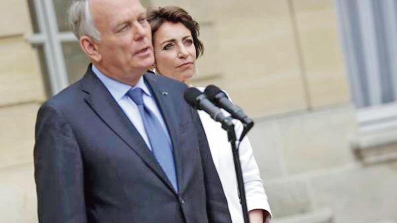 Jean-Marc Ayrault et Marisol Touraine lors de la remise du rapport sur l'avenir des retraites, le 14 juin 2013.