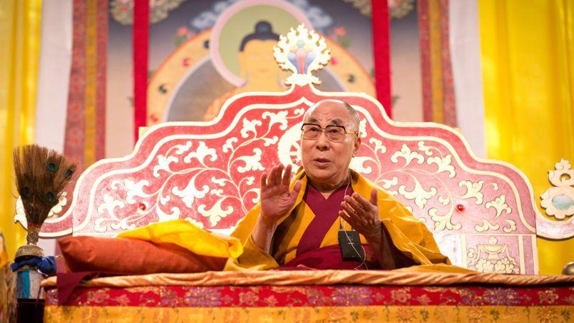 Le dalaï-lama à Hambourg le 24 août 2014.