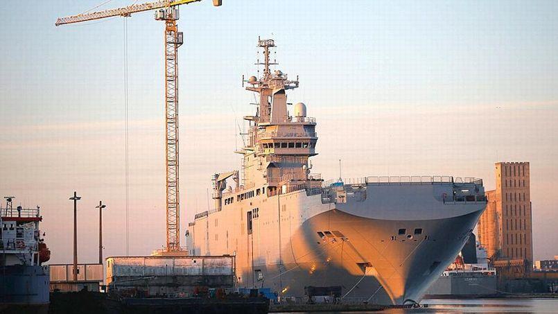 La livraison à la Russie des Mistral construits à Saint-Nazaire est actuellement suspendue par la France.