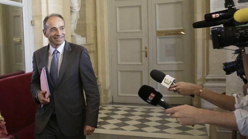 Jean-François Copé, mardi, à l'Assemblée nationale.