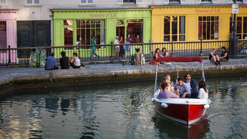 Parmi les jeunes pousses hébergées dans ce nouvel incubateur, la société Marin d'eau douce propose des locations de bateaux électriques sans permis sur les canaux parisiens. Crédit: DR.
