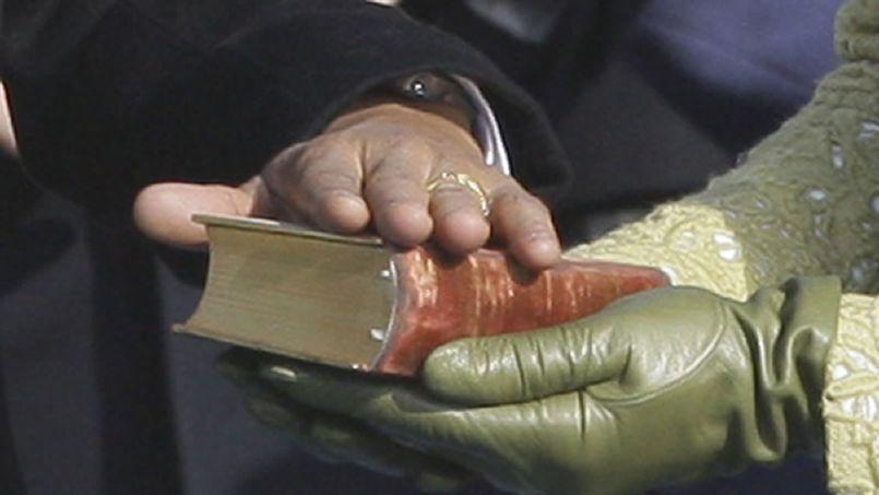 Barack Obama lui-même a dû prêter serment sur la Bible lors de son investiture