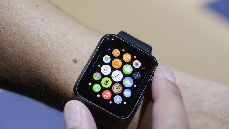 L'Apple Watch d'Apple, en vente l'année prochaine.