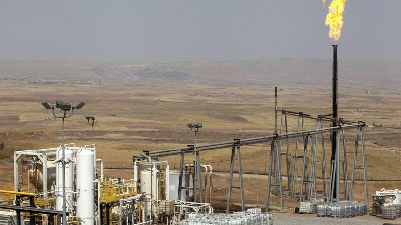 Un champ pétrolier irakien.
