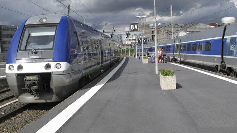 Le service de bibliothèque digitale est à partir de vendredi testé dans les TER de la région Lorraine.