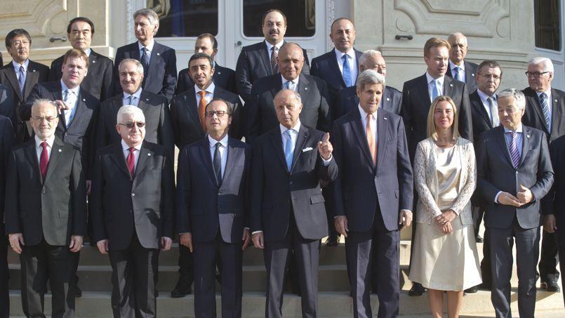 Une trentaine de pays a participé lundi à la conférence sur la paix et la sécurité en Irak au Quai d'Orsay, à Paris.