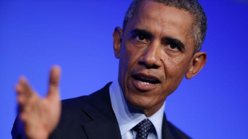 Barack Obama, le 5 septembre 2014 à Newport au pays de Galles