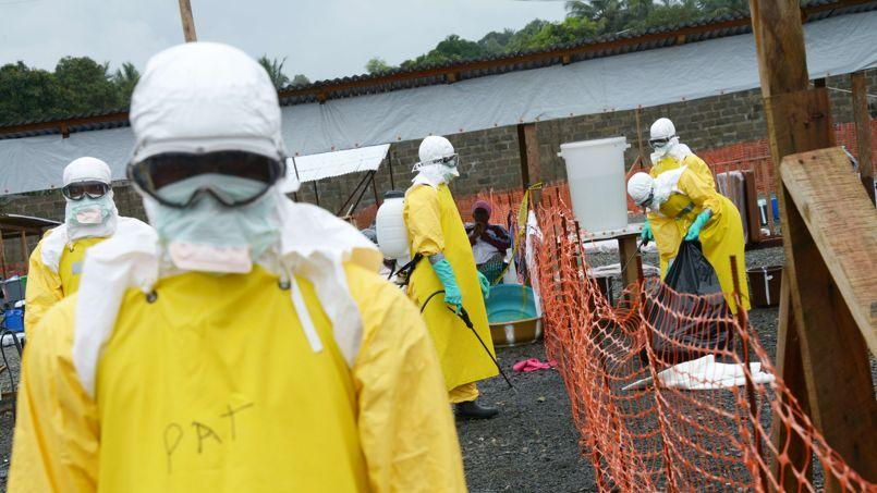 Le centre de MSF à Monrovia, au Liberia.