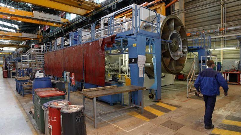 Un site industriel, à Belfort. Crédit photo Jean-Christophe MARMARA/Le Figaro.