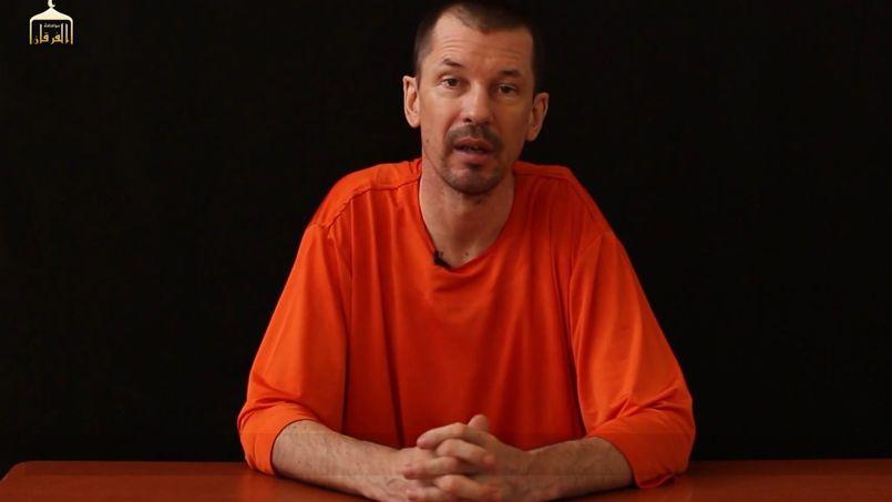 L'otage John Cantlie, dans cette vidéo non datée diffusée jeudi.