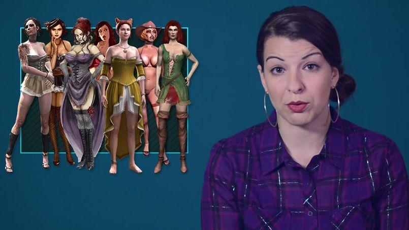 Extrait d'une vidéo d'Anita Sarkeesian.