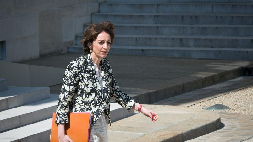 La ministre des Affaires sociales et de la Santé Marisol Touraine, ici au Palais de l'Elysée, à l'issue du Conseil des ministres.