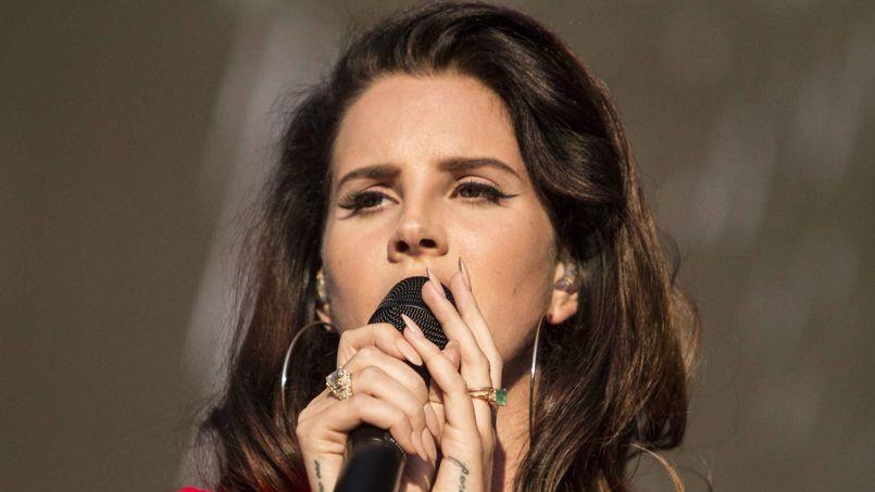 Lana Del Rey au Music Midtown 2014.