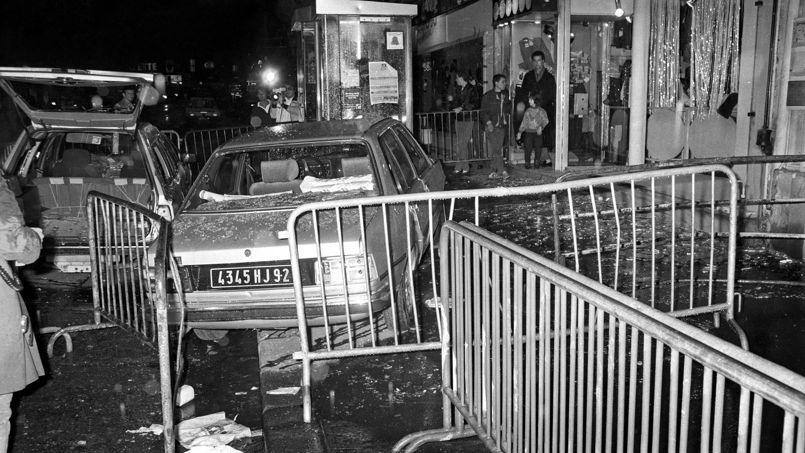 Attentat de la rue de Rennes, le 17 septembre 1986 à Paris.