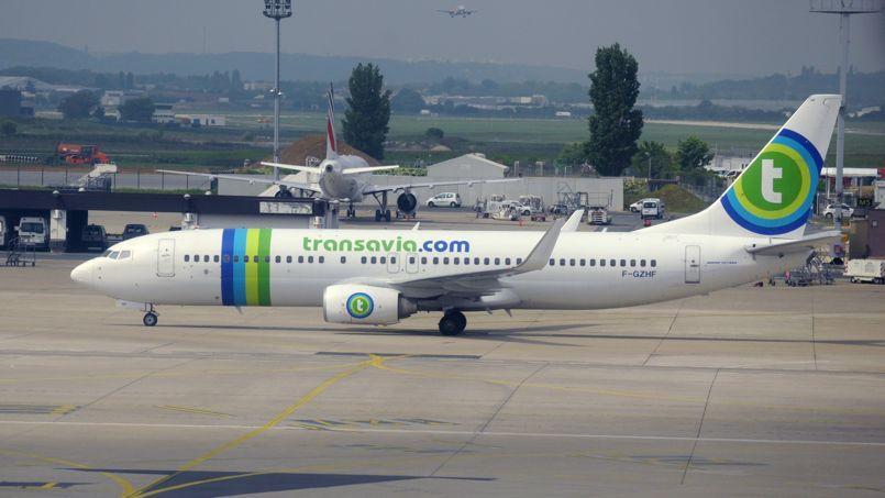 Un avion Transavia à l'aéroport d'Orly en mai 2013.