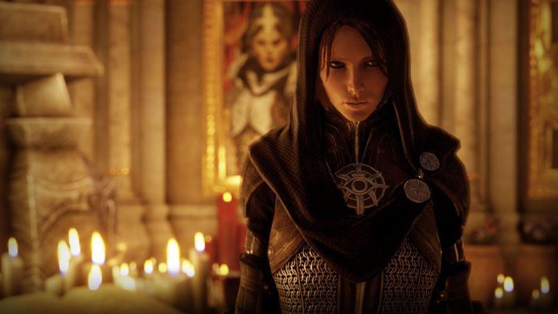 Les équipes de Bioware sont «libres de façonner les personnages comme elles le souhaitent» mais «toujours de manière responsable vis-à-vis de notre public», assure Greg Zeschuk. Ici, Leliana, l'une des protagonistes de Dragon Age: Inquisition, prévu pour l'automne 2014.