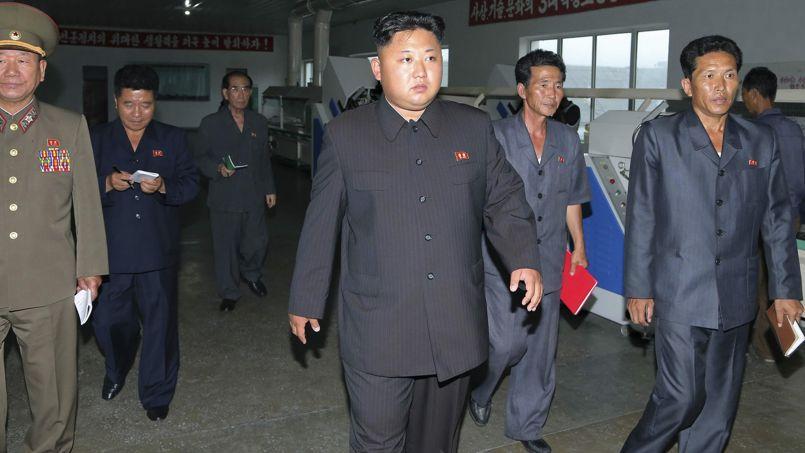 Le président nord-coréen Kim Jong-un, en juillet dernier à Pyongyang.