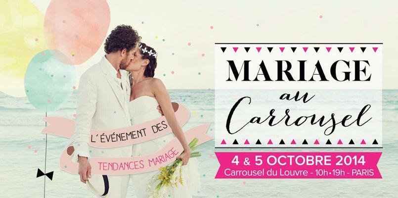 Le Carnet du jour au salon Mariage au Carrousel !