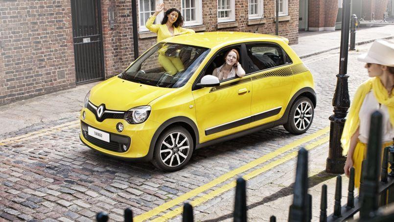 La petite renault twingo retrouve enfin des couleurs - Petite voiture 5 portes ...