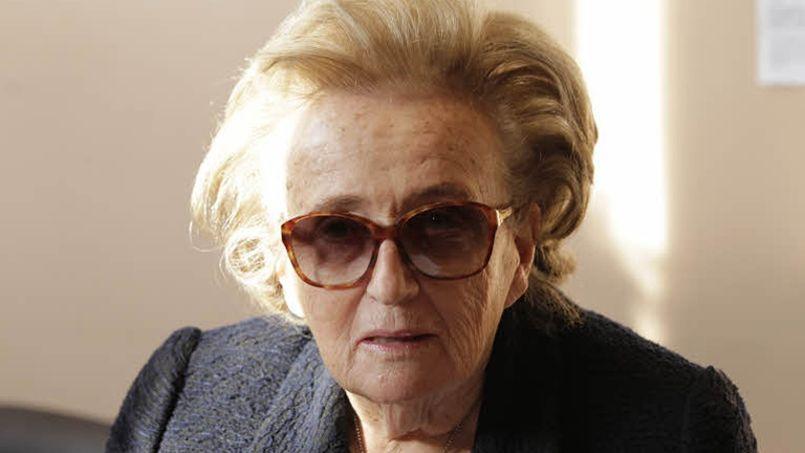 Bernadette Chirac, épouse de l'ancien président de la République.