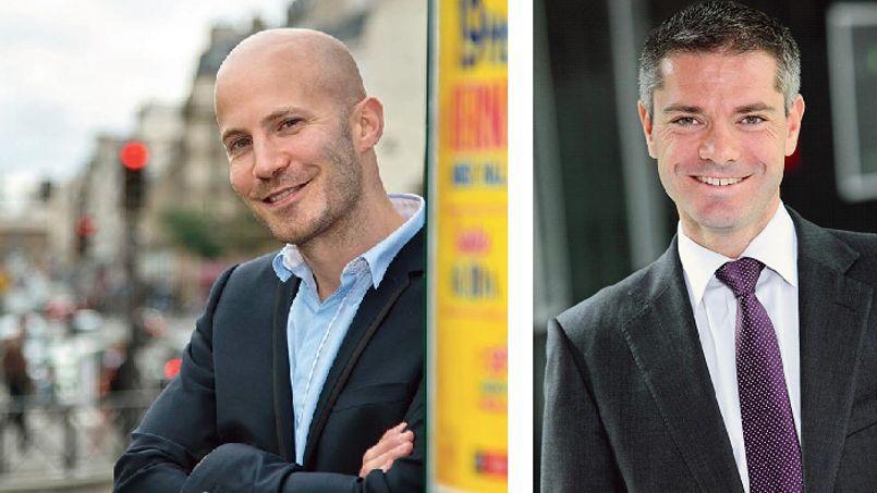 Jean-Christophe Anna, directeur associé de Link Humans (à gauche), et Jean-Marc Mickeler, associé directeur des ressources humaines de Deloitte France (à droite).
