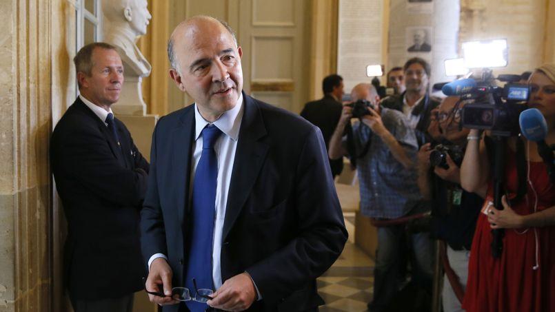Pierre Moscovici, lors du vote de confiance, le 16 septembre à l'Assemblée nationale, à Paris.