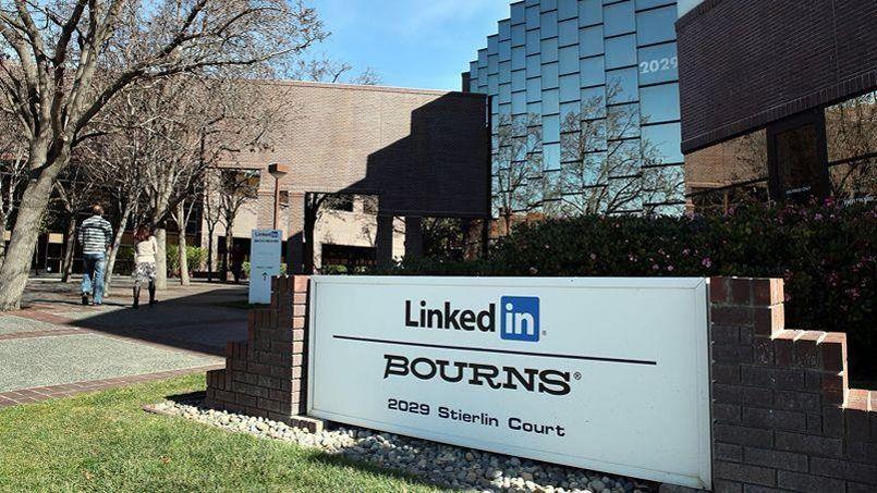Le siège de LinkedIn en Californie. (Crédit: AFP)