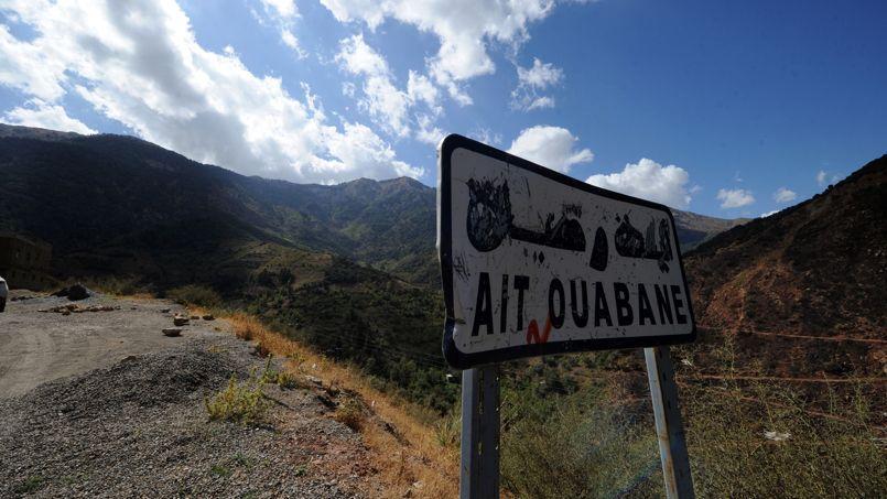 Le village d'Aït Ouabane, où Hervé Gourdel a été enlevé.