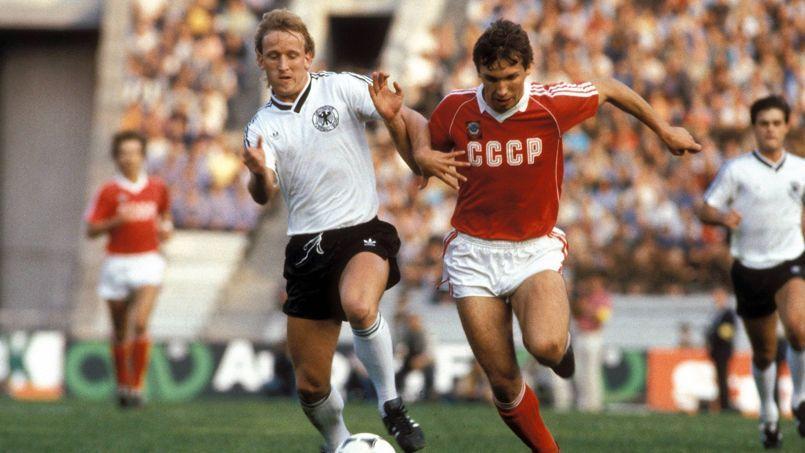 Andreas Brehme compte 86 sélections sous le maillot de l'Allemagne.