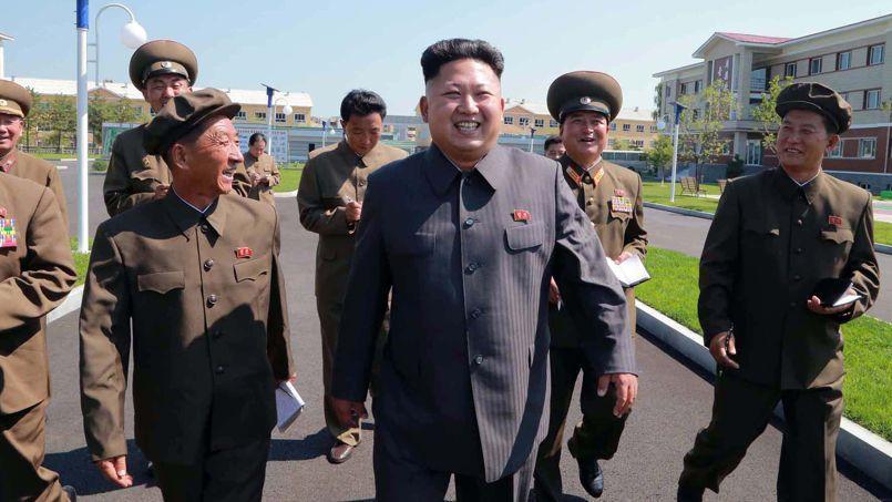 Kim Jong-un en août 2014. Crédits photo: KNS / KCNA / AFP