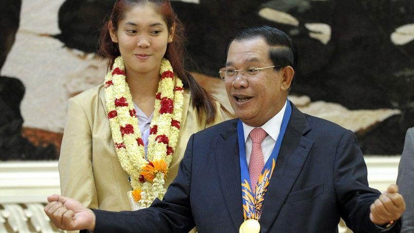 Le premier ministre cambodgien Hun Sen.