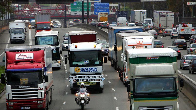 Les transporteurs routiers menacent de lancer des actions sur la voie publique, comme des opérations escargot.