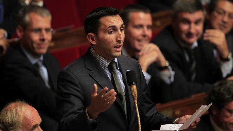 Julien Aubert, député UMP à l'Assemblée nationale.