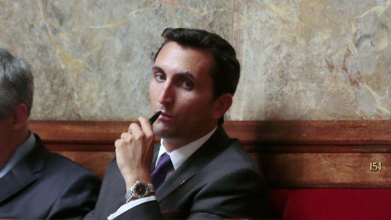 Le député UMP Julien Aubert, le 9 juillet à l'Assemblée.