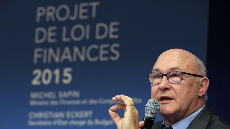 Michel Sapin présente le projet de loi de finances 2015, le 1er octobre.