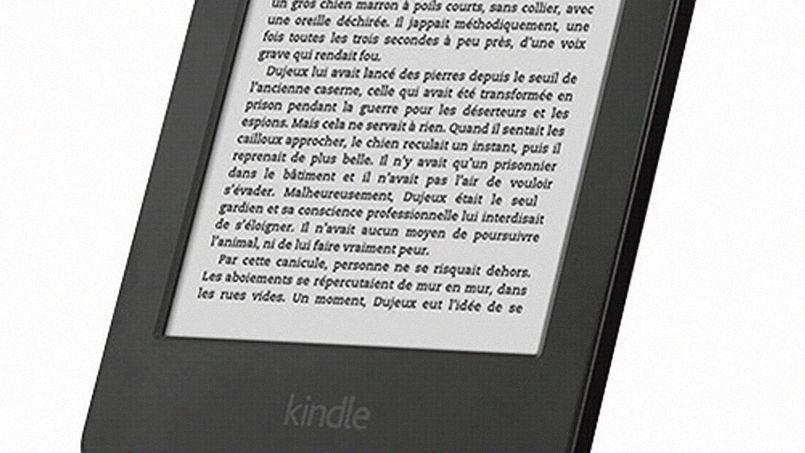 La liseuse Kindle d'Amazon offre un éventail de livres numériques.
