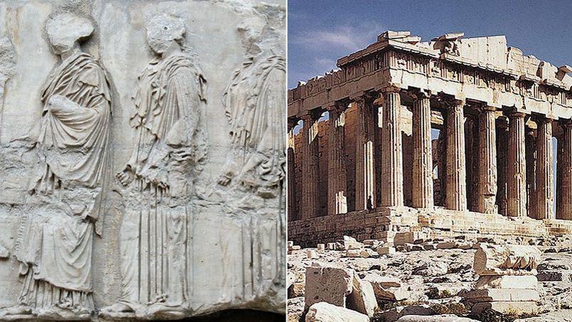 Les frises du Parthénon sont aujourd'hui conservées par le British Museum de Londres.