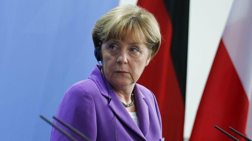 Le gouvernement veut améliorer les conditions de la croissance, a promis Angela Merkel.