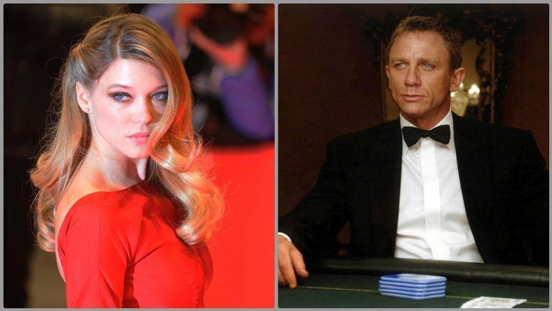Léa Seydoux se frottera à Daniel Craig dans le prochain James Bond.