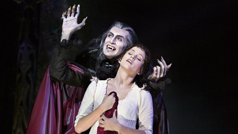 La comédie musicale Le Bal des vampires.