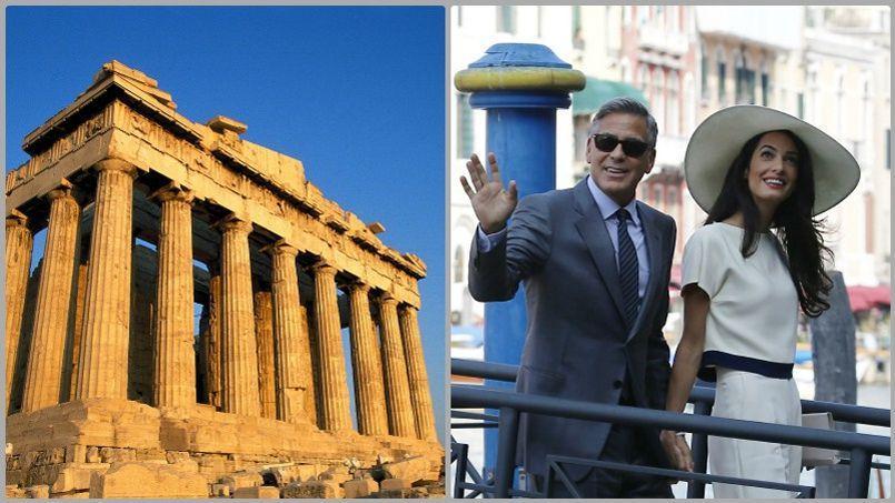 Le futur Parthénon est dorénavant entre les mains d'Amal Alamuddin, la femme de George Clooney.