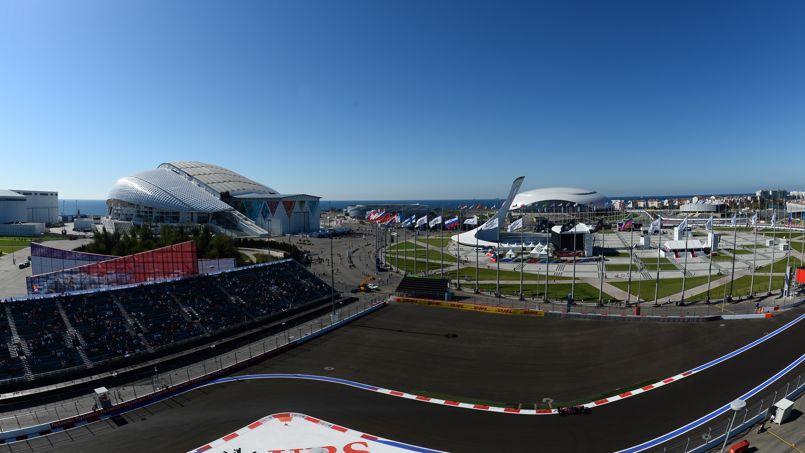 L'autodrome de Sotchi accueillera dimanche le premier GP de Formule 1 de l'histoire de la Russie