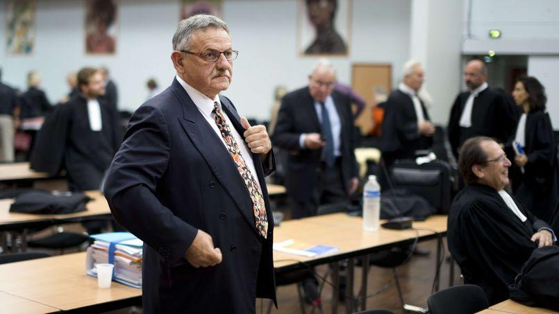 L'ancien maire de La-Faute-sur-Mer, René Marratier, ce vendredi
