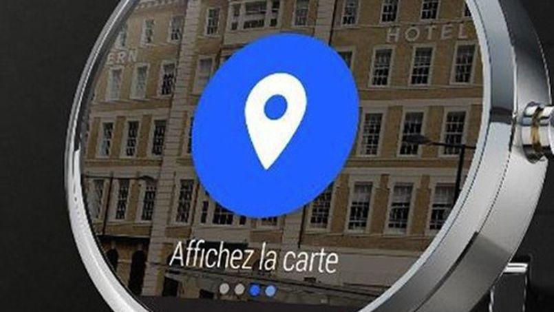 Depuis peu Hotels.com permet de recevoir les informations de sa réservation d'hôtel sur une montre connectée.Crédit: DR