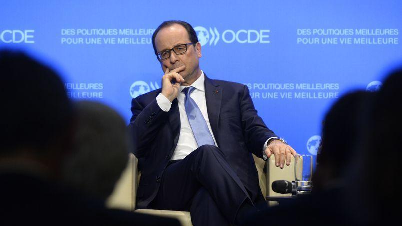 Le chef de l'État François Hollande.